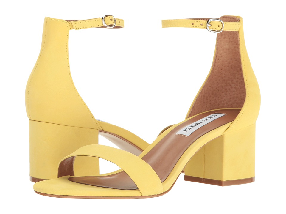 Steve Madden - Irenee (Yellow Nubuck) Women's 1-2 inch heel Shoes