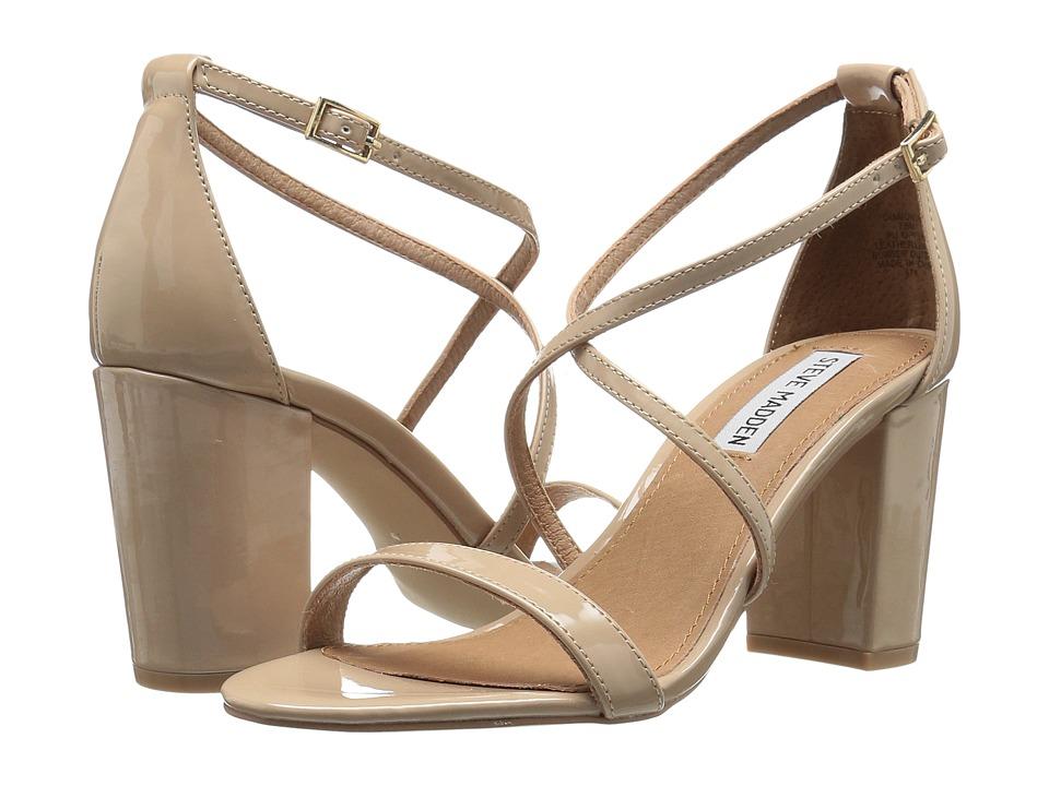 Steve Madden Diamonde (Nude Patent) High Heels
