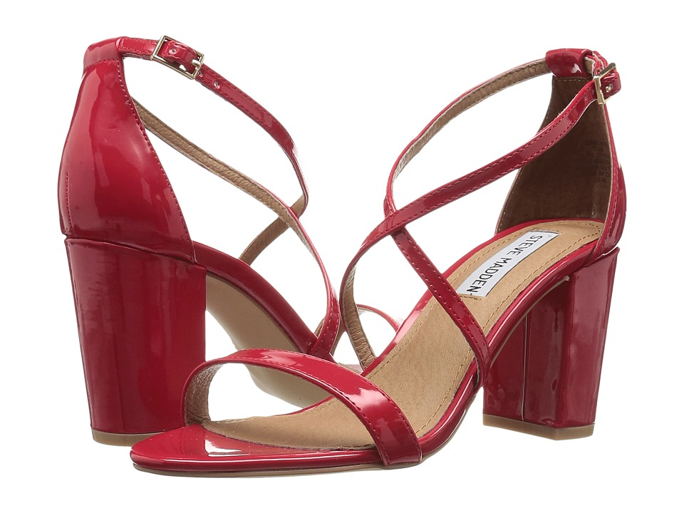 Steve Madden - Diamonde (Red Patent) High Heels