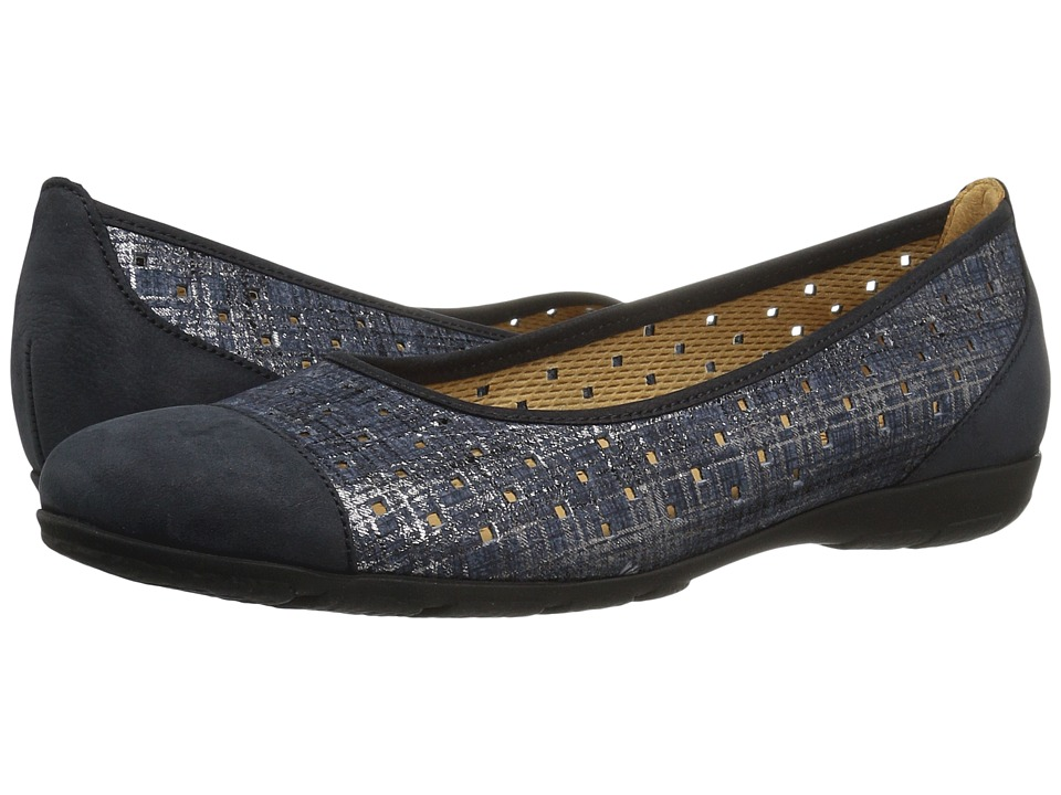 Gabor - Gabor 6.4169 (Jeans/Night Blue) Women's Slip on Shoes