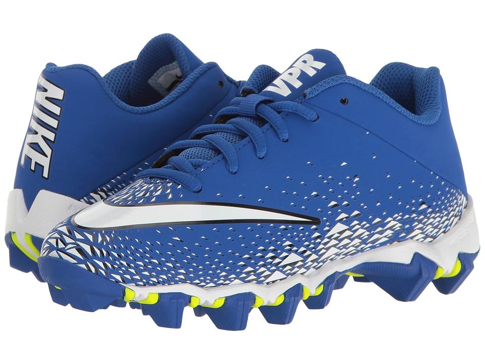 Nike Kids Vapor Shark 2 Football (Toddler/Little Kid/Big Kid) (Game Royal/White/Black/White) Boys Shoes