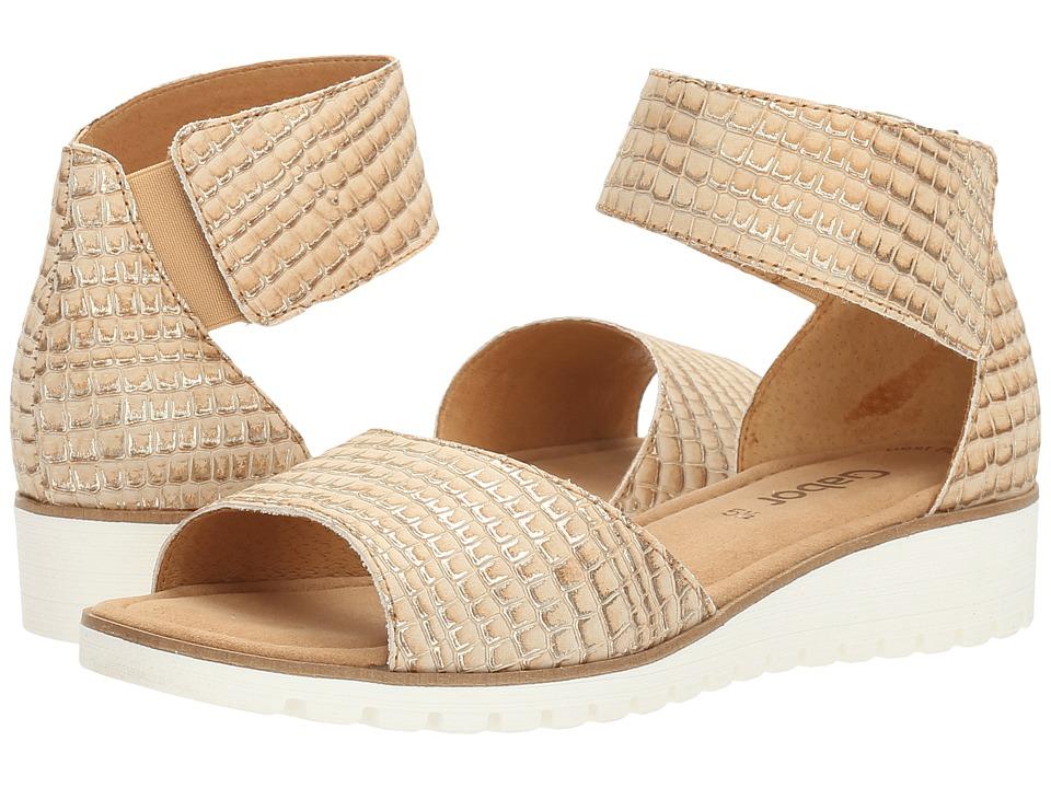 Gabor - Gabor 6.4570 (Sahara) Women's Sandals