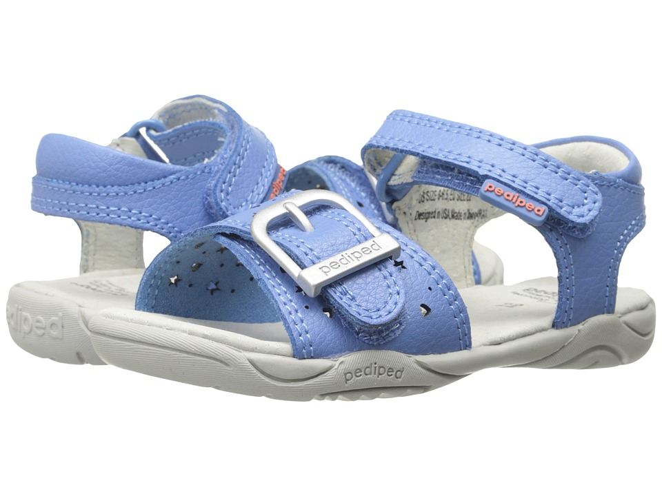 pediped - Maggie Flex (Toddler/Little Kid) (Serenity) Girl's Shoes