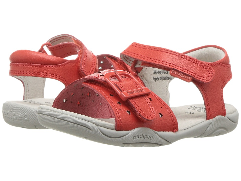 pediped - Maggie Flex (Toddler/Little Kid) (Grenadine) Girl's Shoes