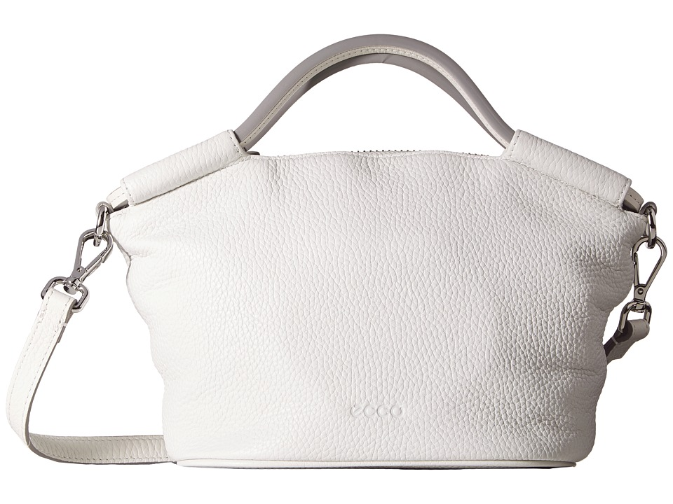 ECCO - SP 2 Small Doctors Bag (White) Handbags