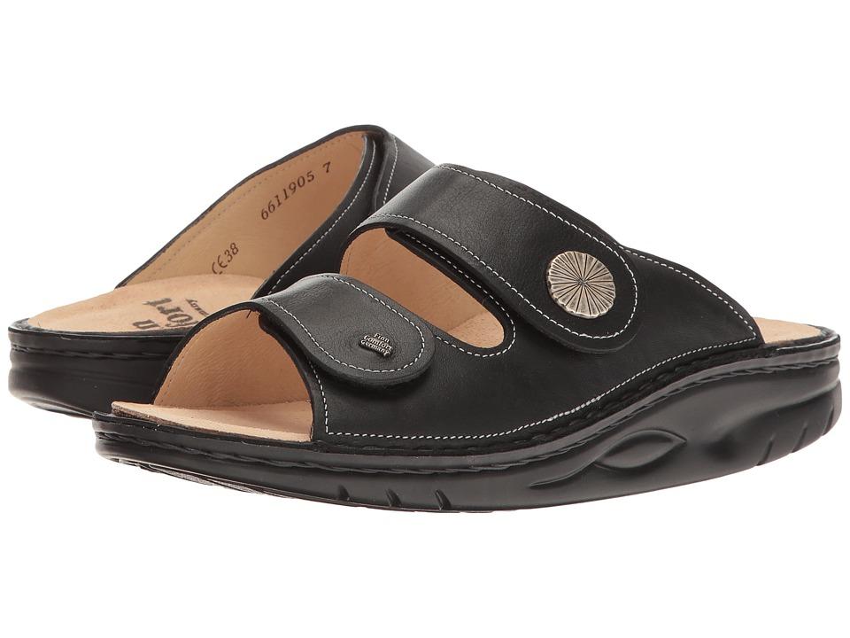 Finn Comfort - Raipur (Black Nappa Seda) Women's Sandals
