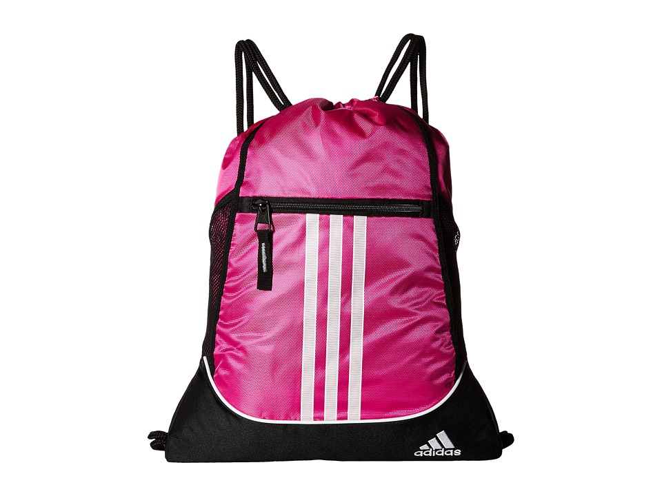 adidas - Alliance II Sackpack (Intense Pink) Bags