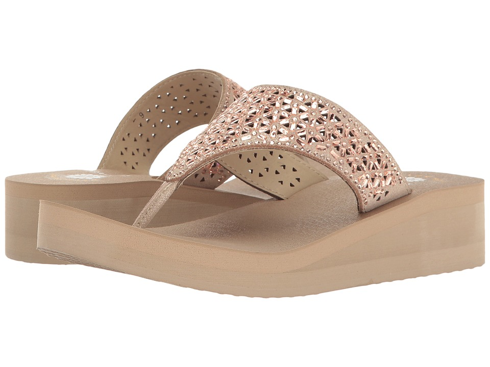 Yellow Box - Glam (Blush) Women's Sandals