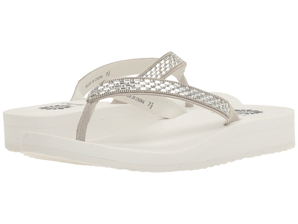 Yellow Box - Bettie (White) Women's Sandals