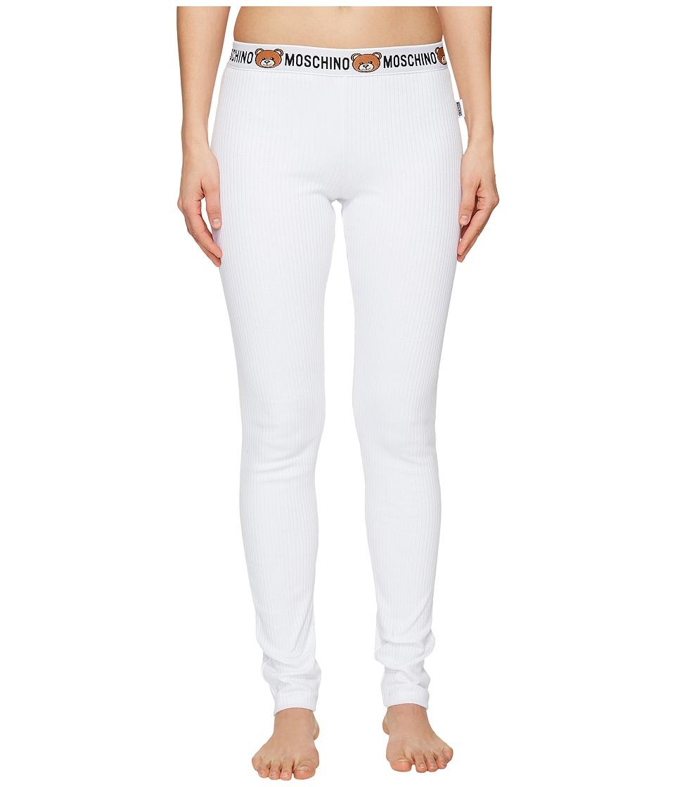 Moschino - Underbear Lounge Pants (White) Women's Pajama