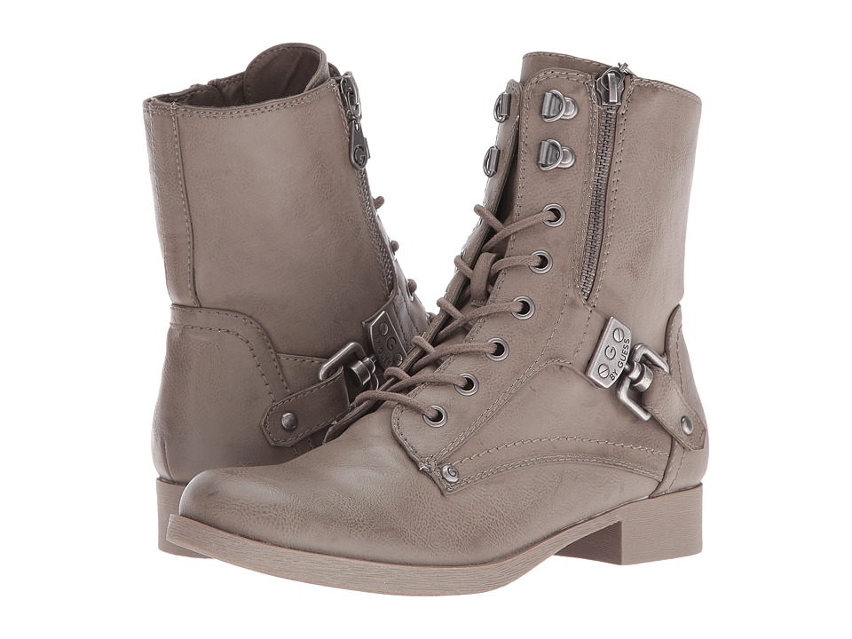 G by GUESS - Beller (Wild Dove) Women's Lace-up Boots