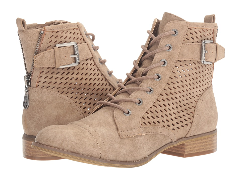 G by GUESS - Atkin (Sahara Sand) Women's Lace-up Boots