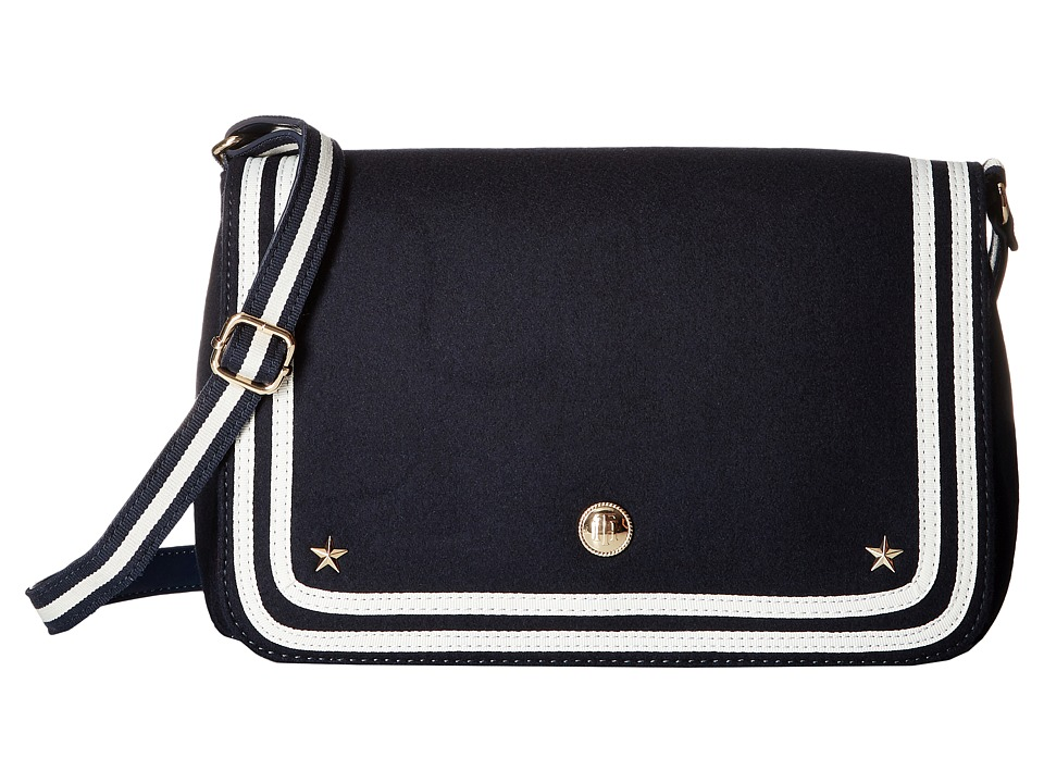 Tommy Hilfiger - Ava Shoulder Bag Wool (Tommy Navy) Hobo Handbags