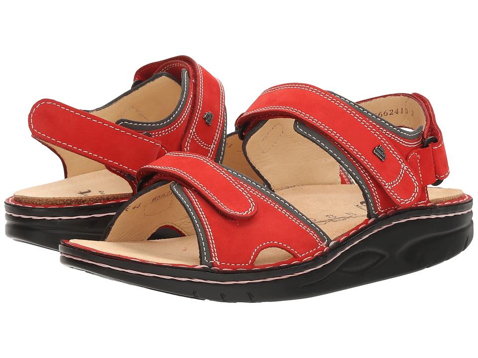 Finn Comfort - Yuma (Red/Street Patagonia) Sandals