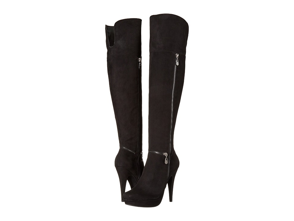 G by GUESS - Tray (Black) Women's Zip Boots