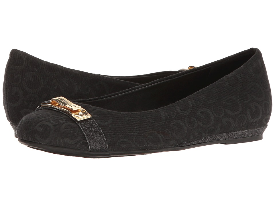 G by GUESS Farrah (Black Logo Print) Women