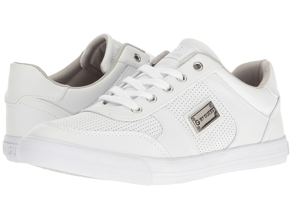 G by GUESS - Olyssa (White) Women's Lace up casual Shoes