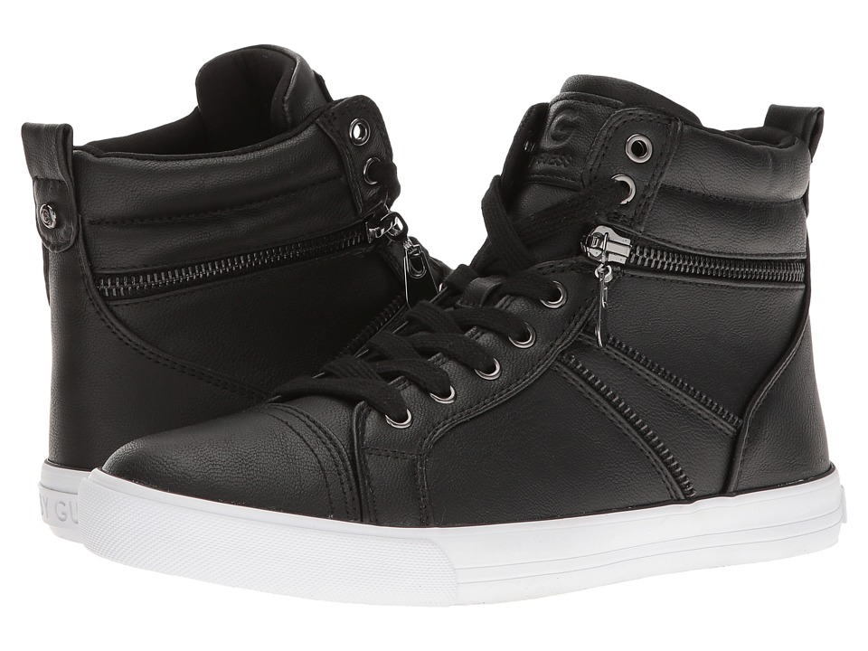 G by GUESS - Oryan (Black) Women's Lace up casual Shoes