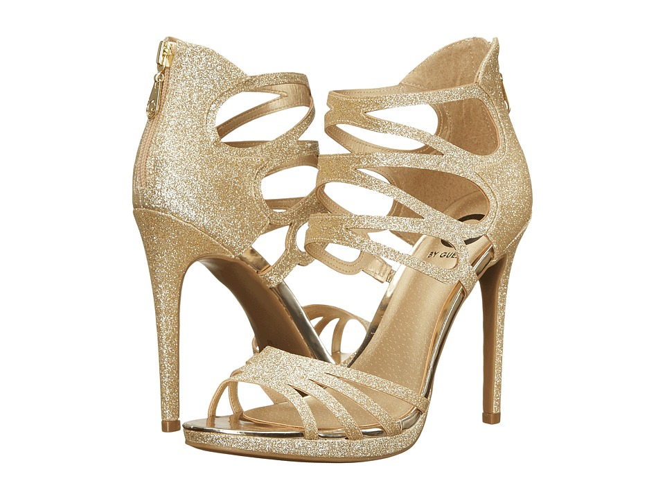 G by GUESS - Girrlie (Gold Glitter) High Heels