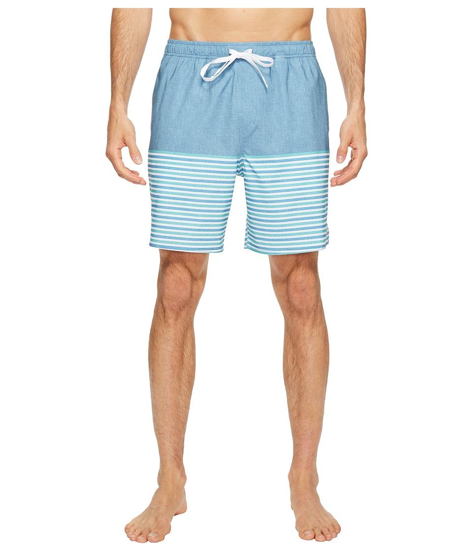 Quiksilver Waterman - Breezy Stripe Volley Shorts (Provencial) Men's Swimwear