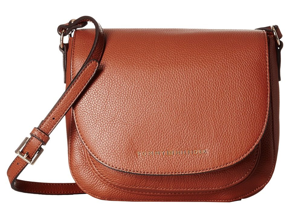 Tommy Hilfiger - Saddle Bag Saddle Bag (Cognac) Hobo Handbags