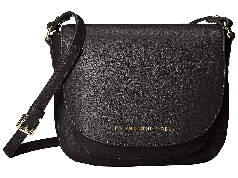 Tommy Hilfiger - Saddle Bag Saddle Bag (Black) Hobo Handbags