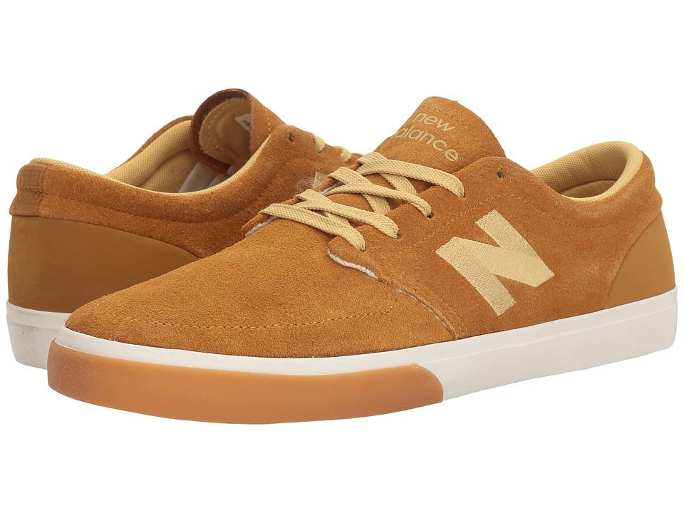 New Balance Numeric - NM345 (Camel/White) Men's Skate Shoes