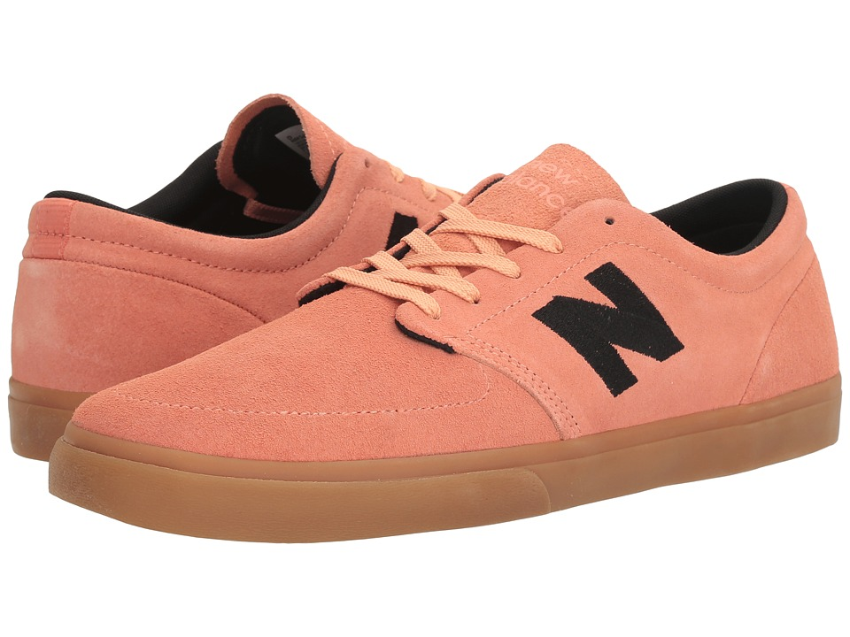New Balance Numeric - NM345 (Salmon/Black) Men's Skate Shoes