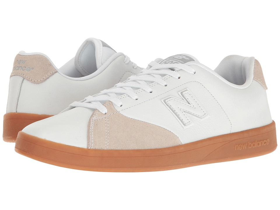 New Balance Numeric - NM505 (White/Gum) Men's Skate Shoes
