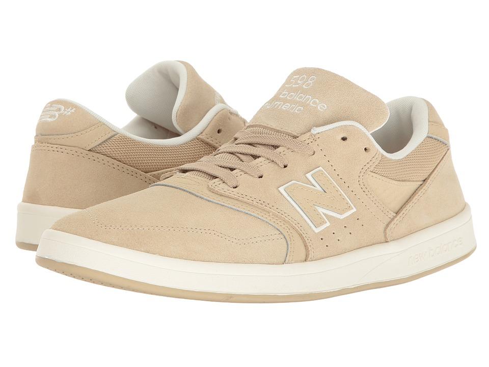 New Balance Numeric - NM598 (Sand/Gum) Men's Skate Shoes