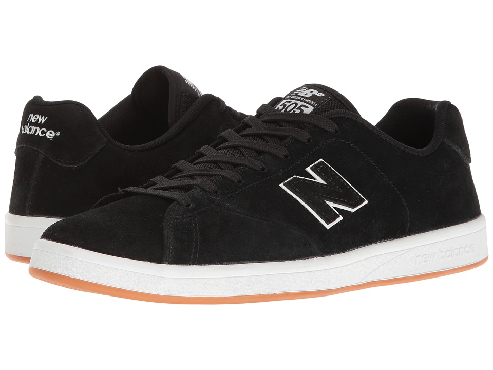 New Balance Numeric - NM505 (Black/White) Men's Skate Shoes