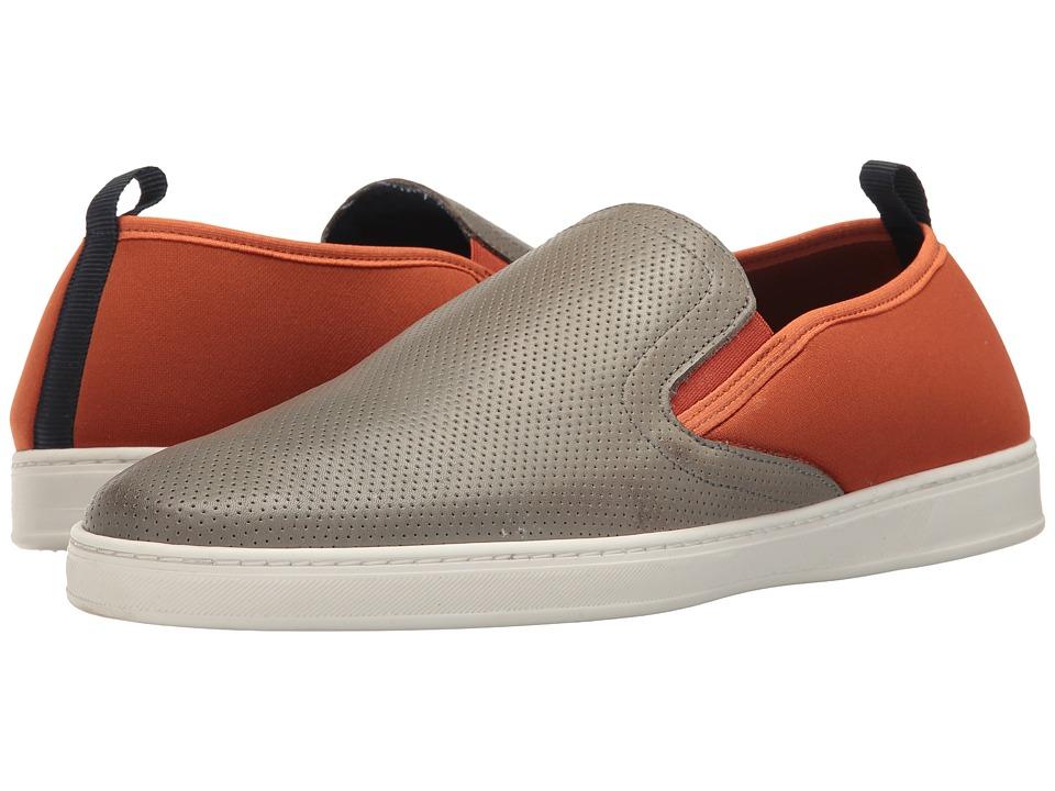 PARC City Boot - Pier (Grey Punched Leather/Orange) Men's Shoes