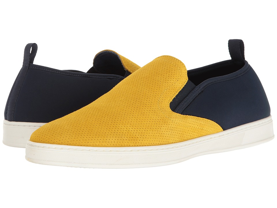 PARC City Boot - Pier (Yellow Punched Suede/Navy) Men's Shoes