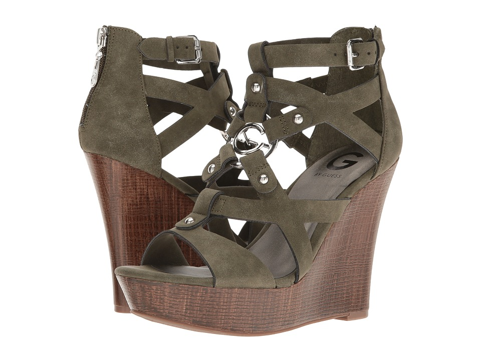 G by GUESS - Dodge (Olive) Women's Sandals