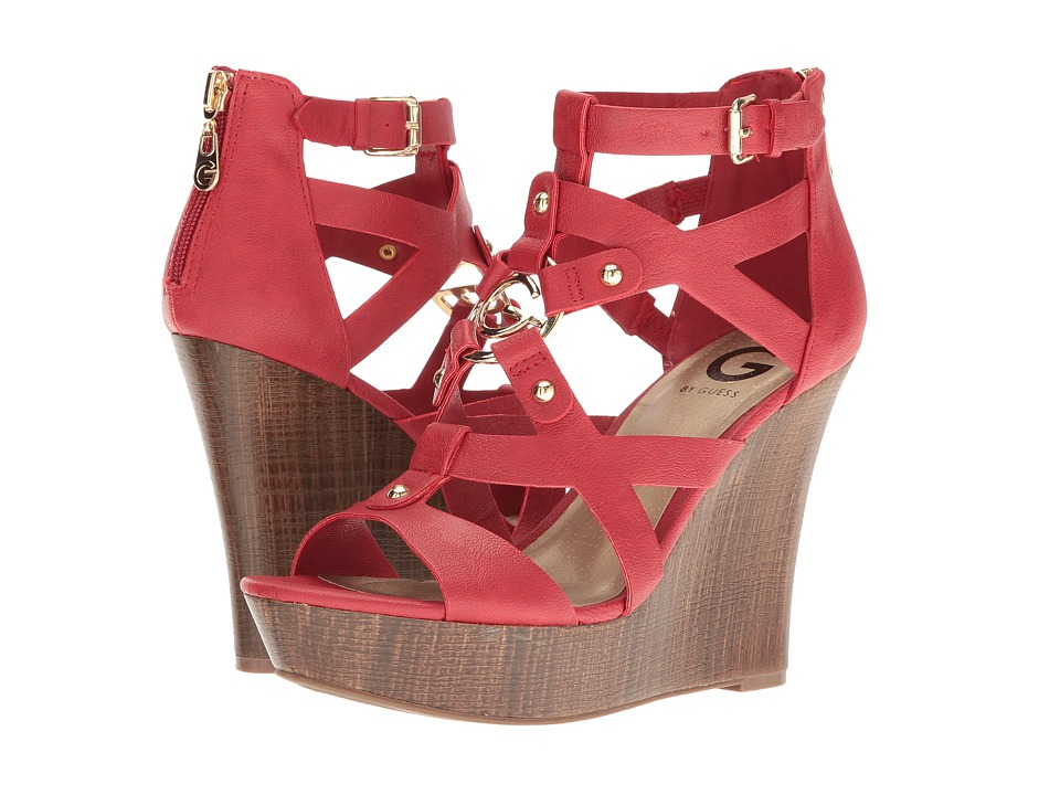 G by GUESS - Dodge (Bold Cherry) Women's Sandals