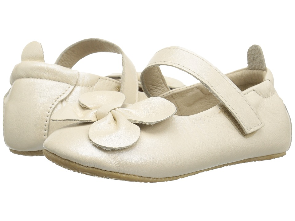 Old Soles - Gab-Bow (Infant/Toddler) (Pearl Metallic) Girls Shoes