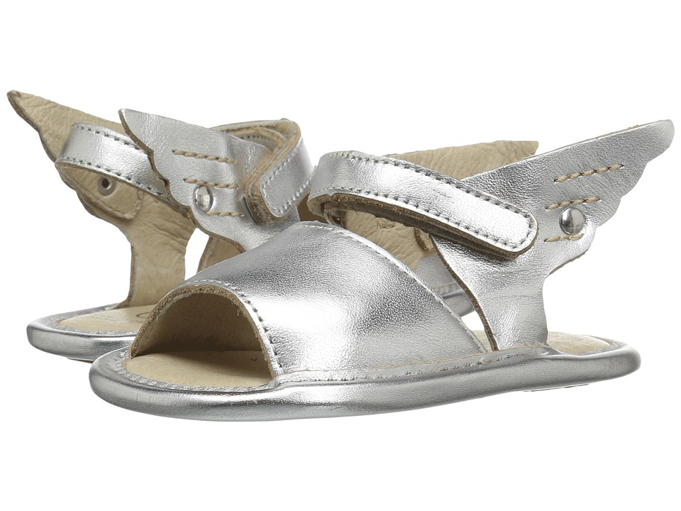 Old Soles - Free Sandal (Infant/Toddler) (Silver) Girls Shoes