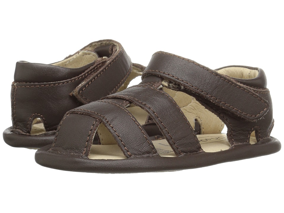 Old Soles - Sandy Sandal (Infant/Toddler) (Brown) Girls Shoes