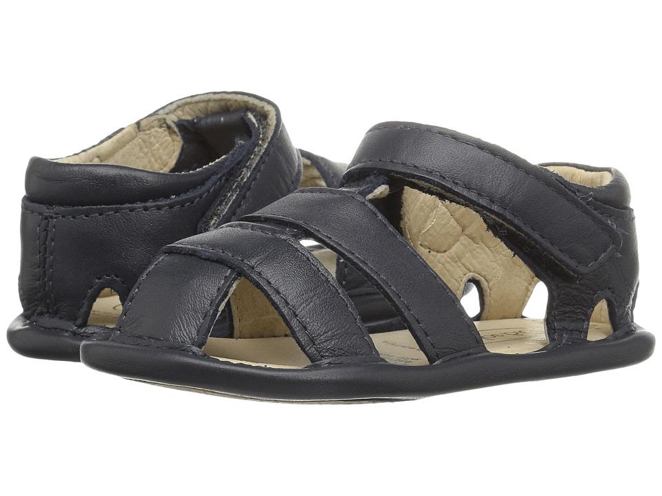 Old Soles - Sandy Sandal (Infant/Toddler) (Navy) Girls Shoes