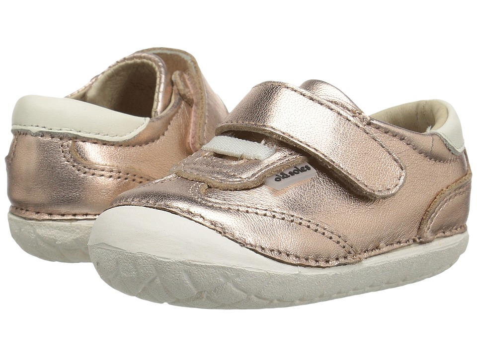 Old Soles - Sporty Pave (Infant/Toddler) (Copper/White) Girls Shoes