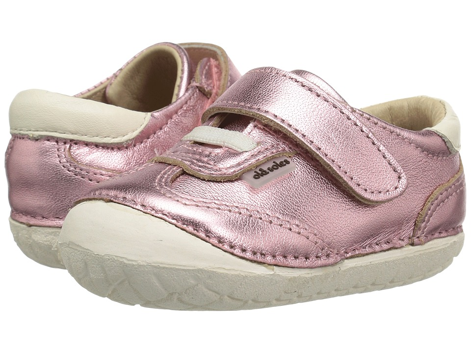 Old Soles - Sporty Pave (Infant/Toddler) (Pink Frost/White) Girls Shoes