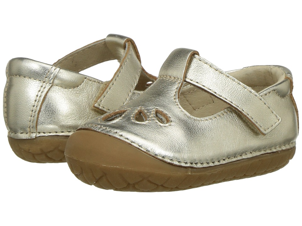 Old Soles - Pave Petal (Infant/Toddler) (Gold) Girls Shoes