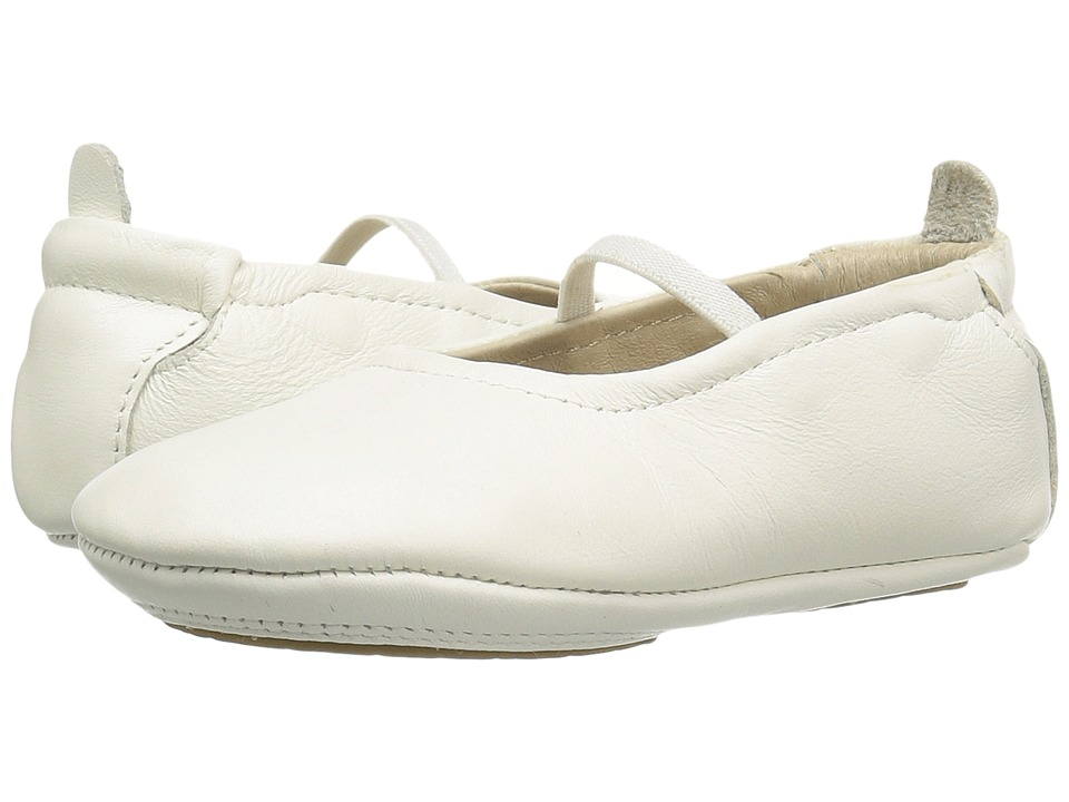 Old Soles - Luxury Ballet Flat (Infant/Toddler) (White) Girls Shoes