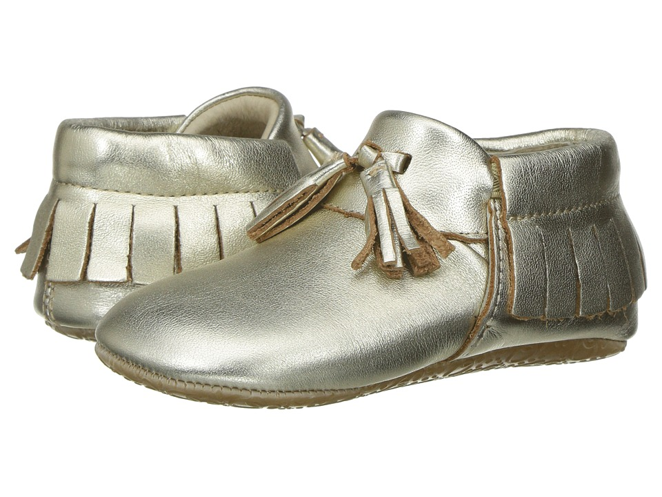 Old Soles - Bambini Toggle (Infant/Toddler) (Gold) Girls Shoes