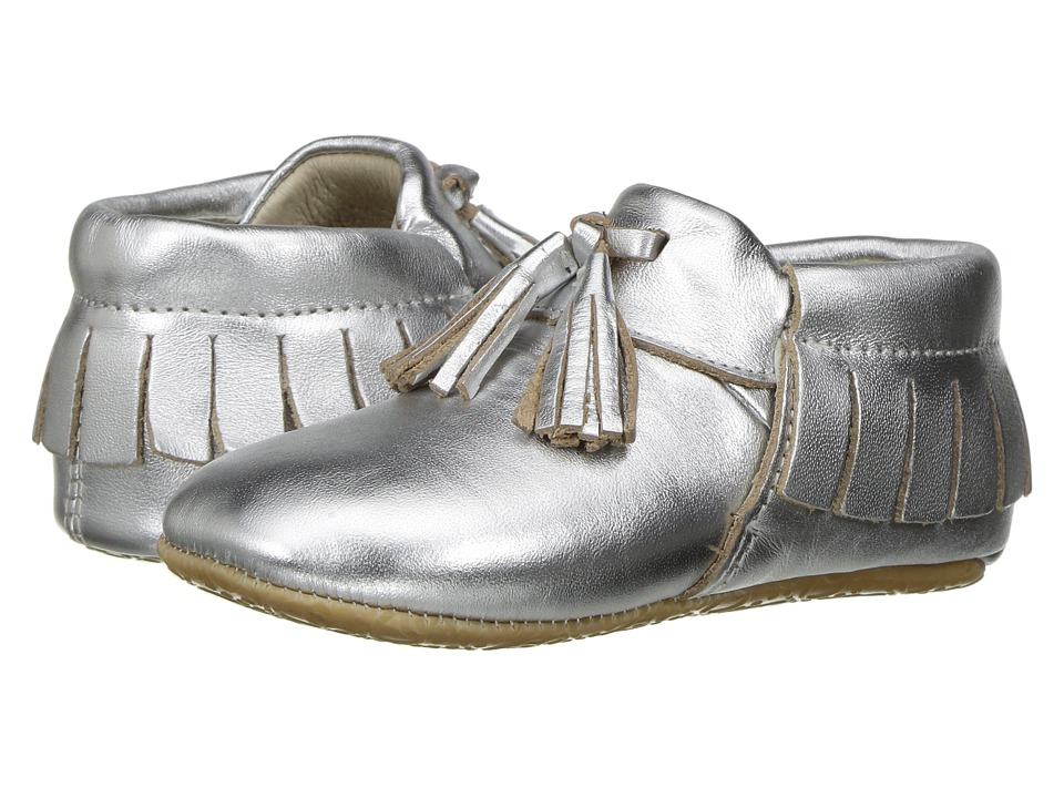 Old Soles - Bambini Toggle (Infant/Toddler) (Silver) Girls Shoes