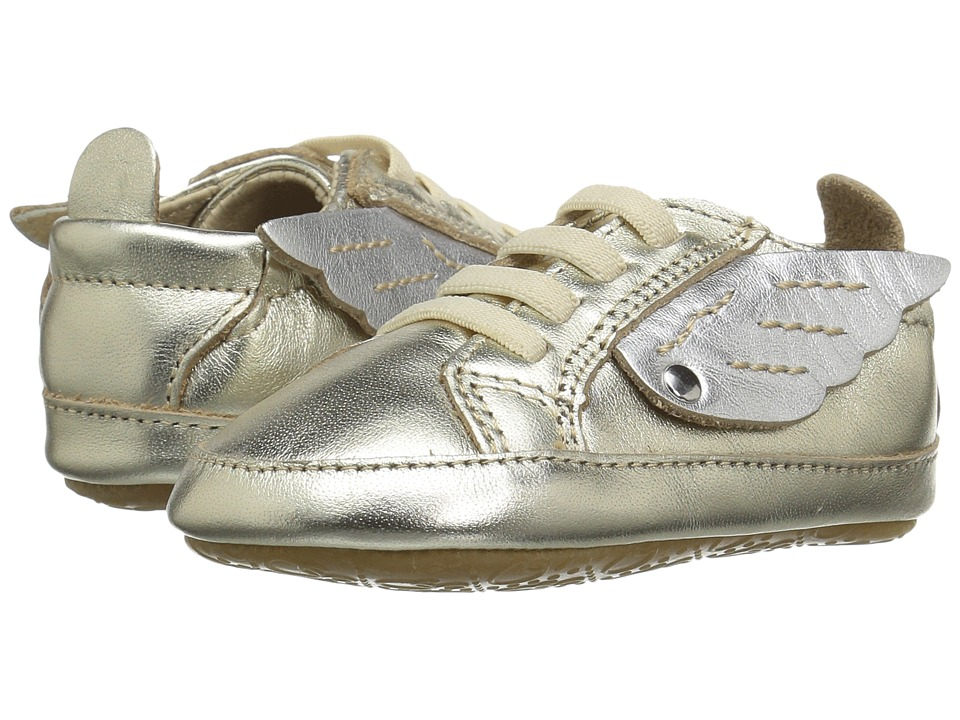 Old Soles - Bambini Wings (Infant/Toddler) (Gold/Silver) Girls Shoes