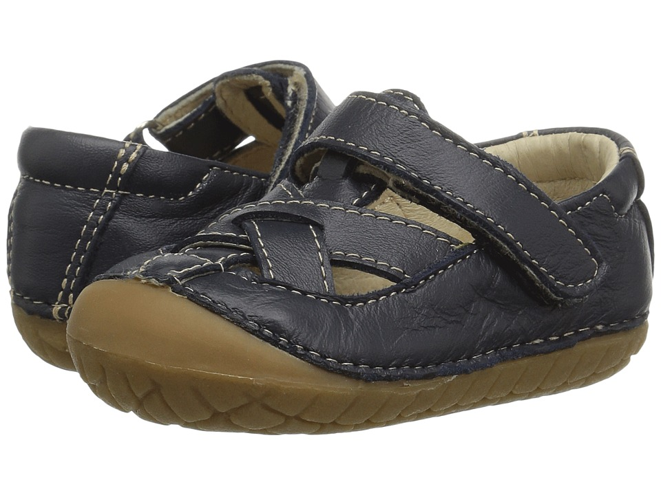 Old Soles - Pave Thread (Infant/Toddler) (Navy) Girls Shoes
