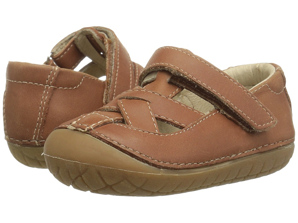 Old Soles - Pave Thread (Infant/Toddler) (Tan) Girls Shoes