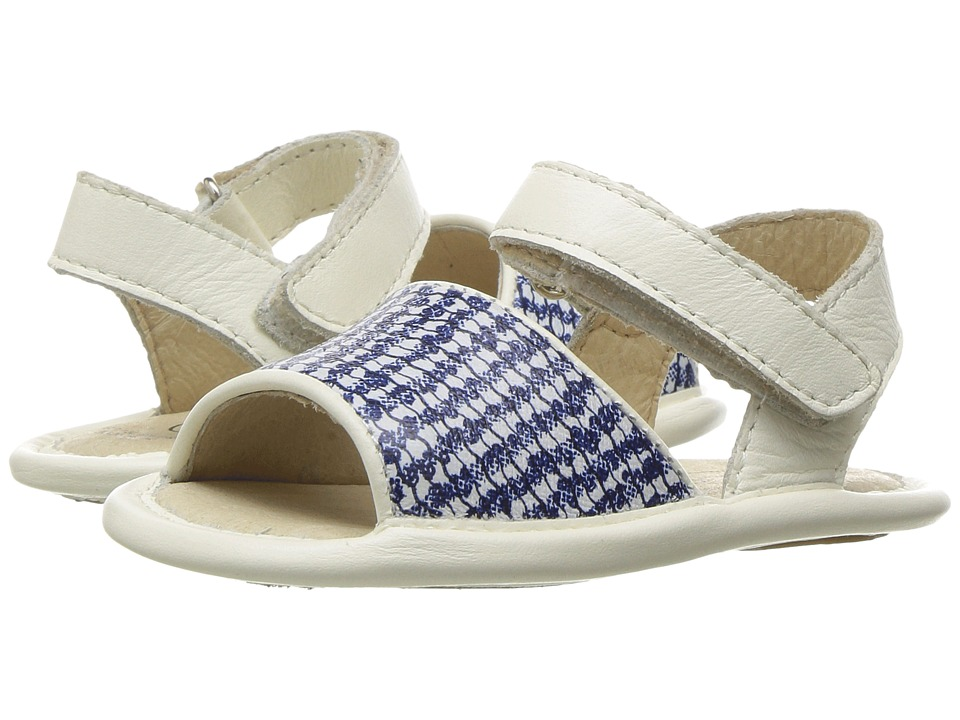 Old Soles - Bambini Amalfi (Infant/Toddler) (Blue/Bianco/White) Girls Shoes