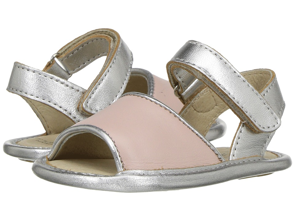 Old Soles - Bambini Amalfi (Infant/Toddler) (Powder Pink/Silver) Girls Shoes